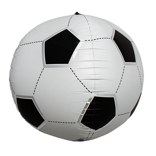 Soccer Ball 17 Inch Helium Foil Balloon - 1