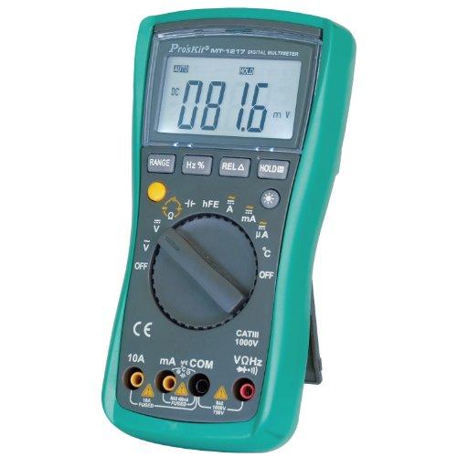 Pro'sKit MT-1217 Mustimeter, Digital, Auto Range, 3-3/4 ...