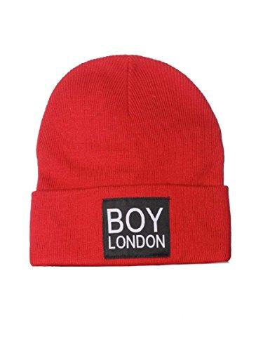 Cappello Boy London BL407 Inverno 2017 Rosso, Unica MainApps