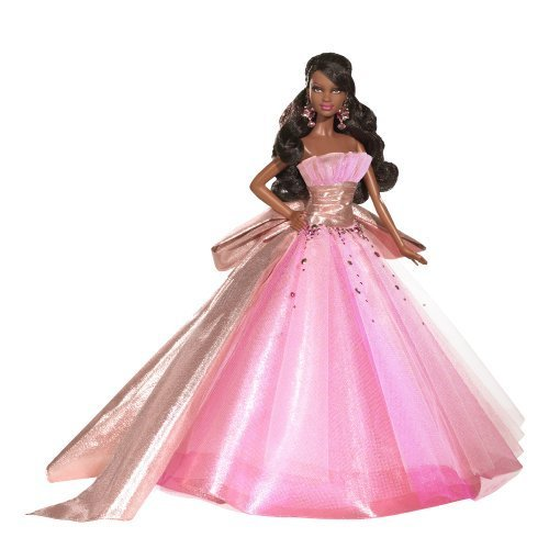 Barbie-Collector-2009-Holiday-African-American-Doll-by-Barbie