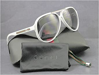 Gucci 1627/S Sunglasses White / Gray Shaded