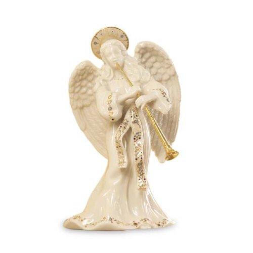 Lenox China Jewels Nativity Angel W/ Trumpet front-696342
