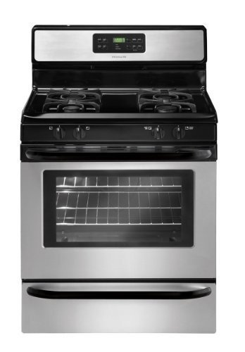 30 Inch Gas Range Stainless Steel
