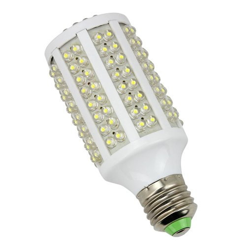 E27 10W 166 Led 110V Corn Light Bulb Lamp Pure White