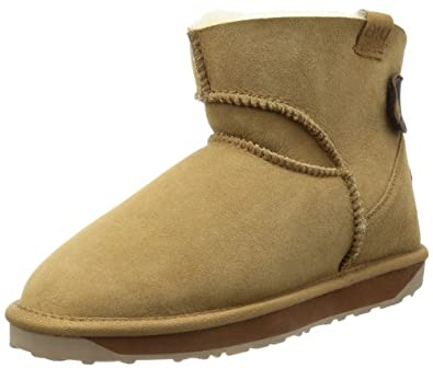 Emu Womens Alba Mini Mini Boots W10835 Chestnut 3 UK, 35 EU, 5 US, Regular