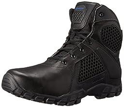 Bates Men\'s 6 Inch Strike Side Zip Waterproof Tactical Boot, Black, 14 XW US