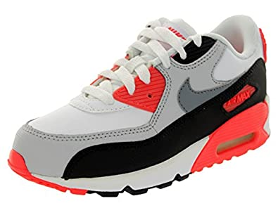 Nike Air Max 90 (PS) Youth Boys White Running Shoes Size 2