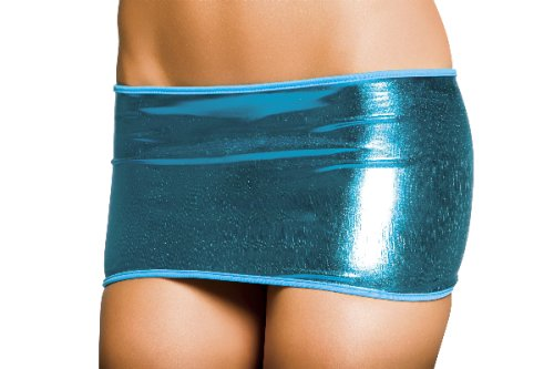 Metallic Mini Skirt - More Colors Available