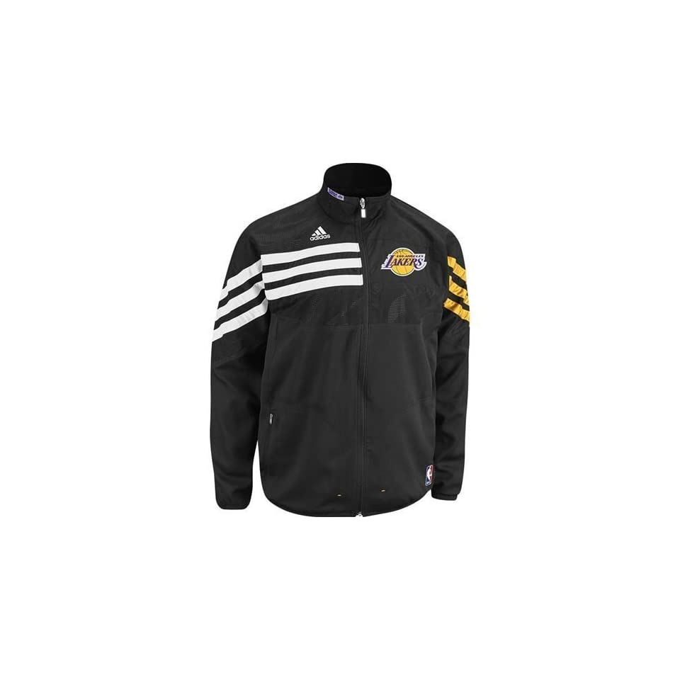 Los Angeles Lakers 2011 Warm Up Jacket (Black) Sports