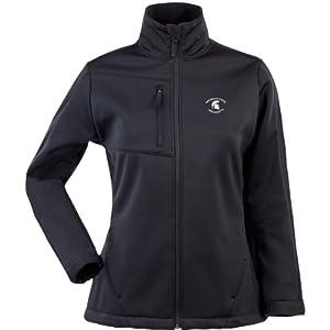 Antigua Ladies Michigan State Spartans Traverse Fleece Back Full-Zip Jacket by Antigua