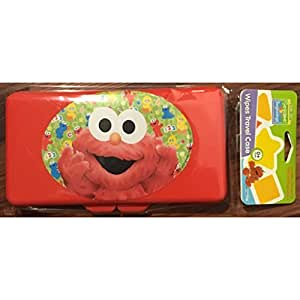 Amazon Com Sesame Street Wipes Travel Case Each Item Is