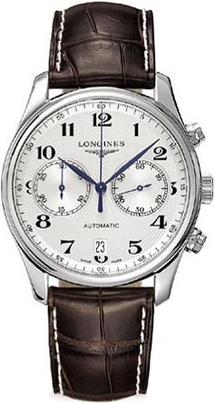 Longines Master Collection Mens Silver Dial Automatic Watch L26294783