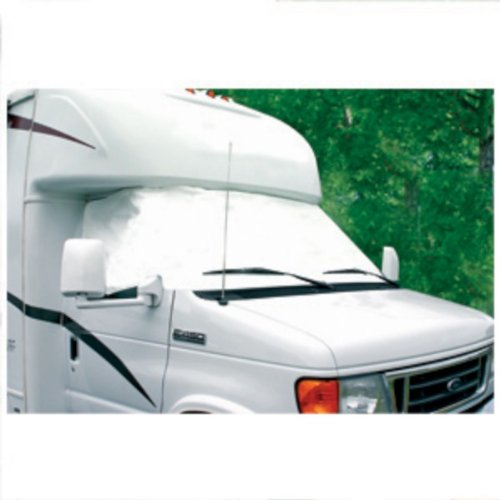 Camco 45231 RV Vinyl Windshield Cover (Arctic White)