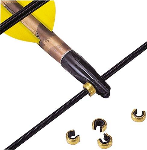 Allen Company String Nock Set (Crimp On Large Size), 5 Pack