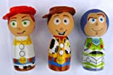 Toy Story Mini Bubble Bath Collector's Set *Buzz, Woody, Jessie*