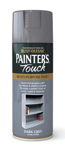Rust-Oleum 400ml Painters' Touch Spray Paint - Dark Grey