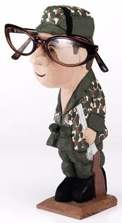 Peepers® Eyeglass Holder, HUNTER