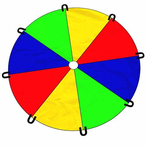 2.40m Play Parachute Plpa01 5018125007502 By Brookite