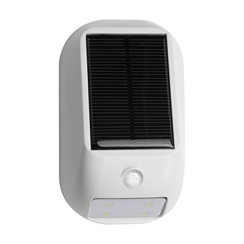 Le Solar Lights, Led Motion Sensor Light, Waterproof, Wireless Night Light, Bright 160Lm Led Wall Lights, Solar Pir Light, Solar Rechargeable Light, Outside Wall Lights