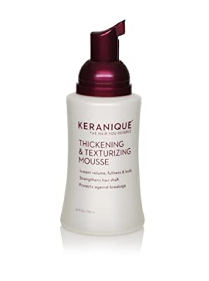 Keranique Thickening & Texturizing Mousse, 3.4 fl. oz.