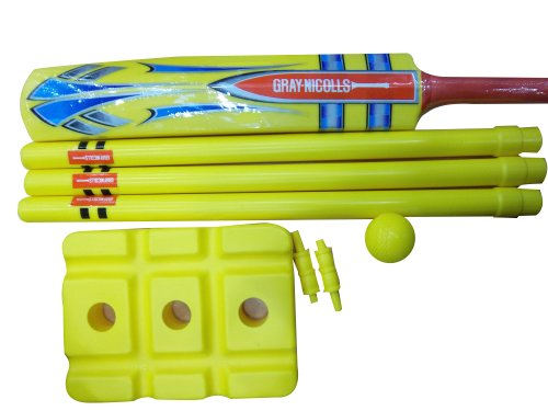 Gray-Nicholls Unisex Adult Beach Cricket Set - Yellow