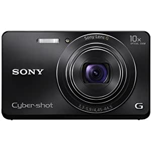 Sony Cyber-shot DSC-W690 16.1 MP Digital Camera with 10x Optical Zoom and 3.0-inch LCD (Black) (2012 Model)