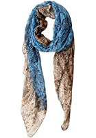 GERINLY Two-tone Shawl Scarf for Women Soft Lightweight Spring Wrap