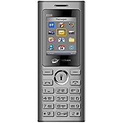 Micromax X556 Grey 1.8 inch TFT Display Dual SIM Keypad Mobile Voice Call Recording Phone