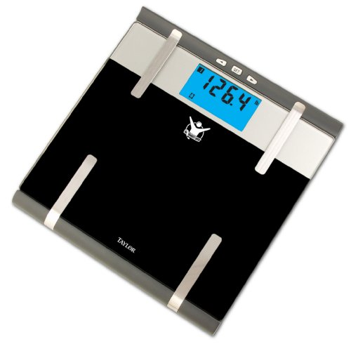 Cheap Biggest Loser #5739BL Glass Body Fat Monitor Scale (5739BL)