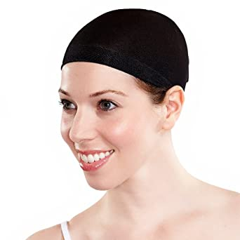 Black Wig-Cap(2 Pack)