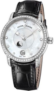 Ulysse Nardin Classico Lady Luna Stainless Steel Ladies Watch