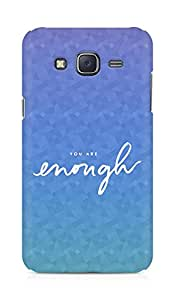 AMEZ you are enough Back Cover For Samsung Galaxy J5