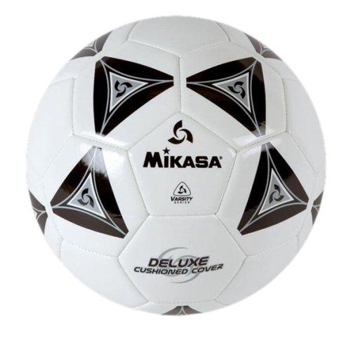 Mikasa Serious Soccer Ball (Black/White, Size 3)