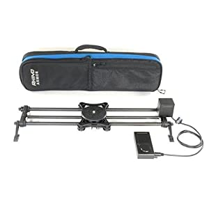 "Rhino Essentials Slider Bundle, Includes 24"" EVO Carbon Slider, Motion for EVO Sliders, 24"" Evo Slider Carrying Case"
