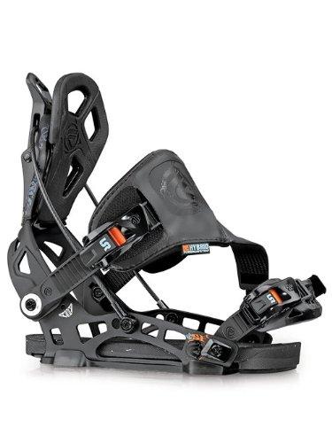 Flow NX2-SE Snowboard Binding – Men's Black Large