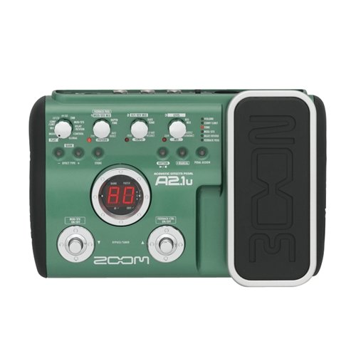 ZOOM A2.1U WITH EXPRESSION PEDAL