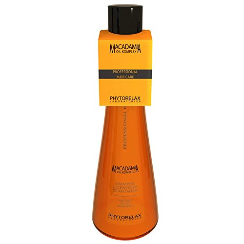 Phytorelax Macadamia Oil Komplex Shampoo Lucentezza Istantanea 250 Ml