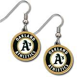 Oakland Athletics Dangle Earrings - MLB Baseball Fan Shop Sports Team Merchandise Reviews