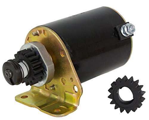 NEW STARTER MOTOR FITS JOHN DEERE MOWER RIDING S82 S92 SX85 WITH FREE GEAR 390838, 392749, AM37352 (Riding Mower Starter compare prices)