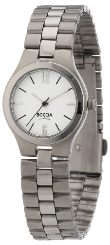 Boccia 3082-01 Ladies Watch with Metal Strap