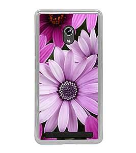 Beautiful Purple Flowers 2D Hard Polycarbonate Designer Back Case Cover for Asus Zenfone 5 A501CG :: Asus Zenfone 5 Intel Atom Z2520 :: Asus Zenfone 5 Intel Atom Z2560
