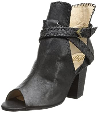 House of Harlow 1960 Women's Minnie Wedge Pump,Black Vivi Kid/Black Rough Snake,6 M US