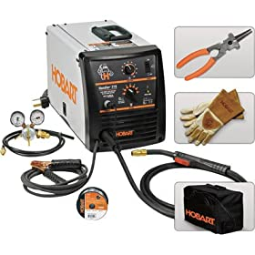 Hobart Handler 210 Wire Feed MIG Welder - 230 Volt, 210 Amp, Model# 500530