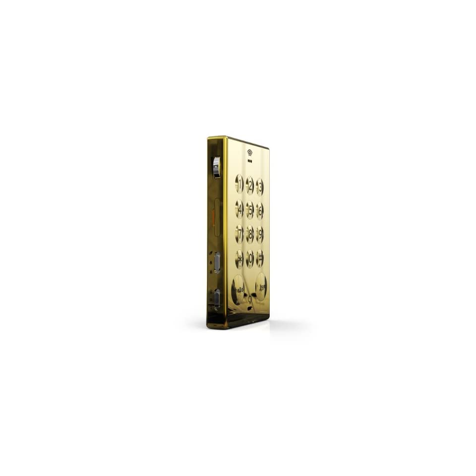 Johns Phone Bar (Gold) is the worlds most basic unlocked cell phone. No frills   no unnecessary features such as a camera, text messaging or an endless number of ringtones. JOHNS PHONE features large buttons, a concealed paper address book & pen and a