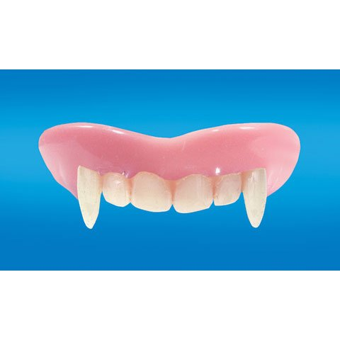 Adult Vampire Teeth Size One Size front-460799