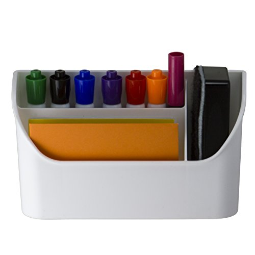 Officemate Magnet Plus Magnetic Organizer, White (92550