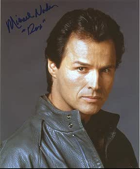 MICHAEL NADER (Dynasty) 8x10 Male Celebrity Photo Signed In-Person at