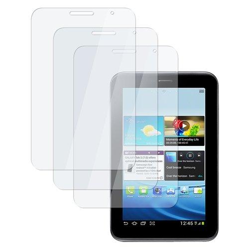 ChannelExpert Klar Schutzfolie Display Folie Bildschirmfilm Film Displayschutzfolie für Samsung Galaxy Tab 2 7.0/P3100/P3110[3pcs-set]