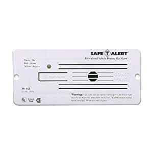 MTI Industries 30-442-P-WT Propane Gas Alarm - White