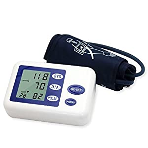LP Blood Pressure Cuff , Remedies Blood Pressure Monitor with Easy to Read Digital Display , Touch Operation , Outdoor travel Convenient to carry , Ideal for the elderly , hypertension , heart disease